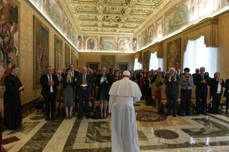 FEBA_Private Audience Pope Francis_18052019[2]